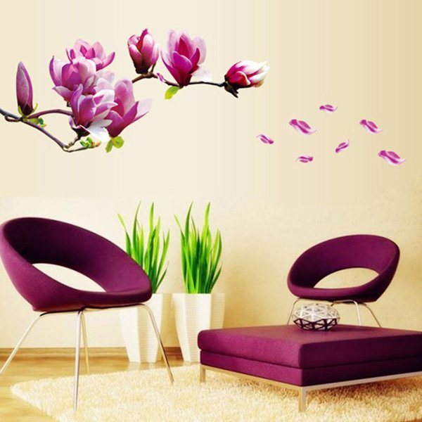 45 DECORACIONES DE DORMITORIOS CON WALLPAPERS - II PARTE