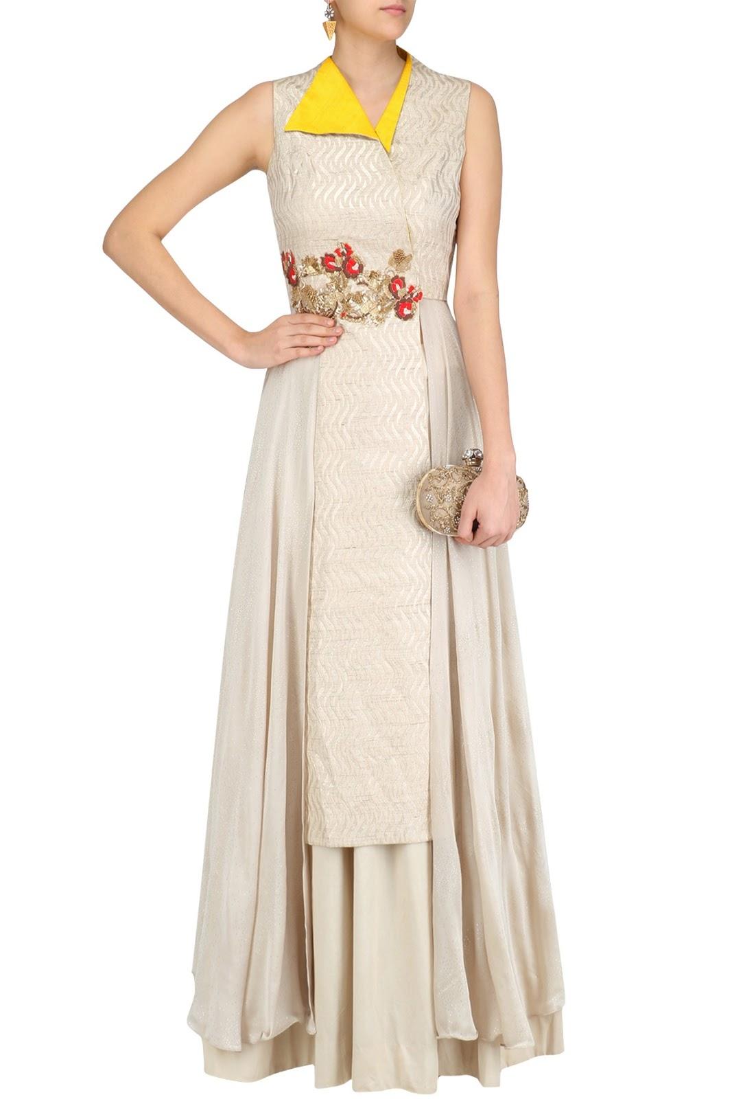 Rishi & Soujit Indo Western Dresses
