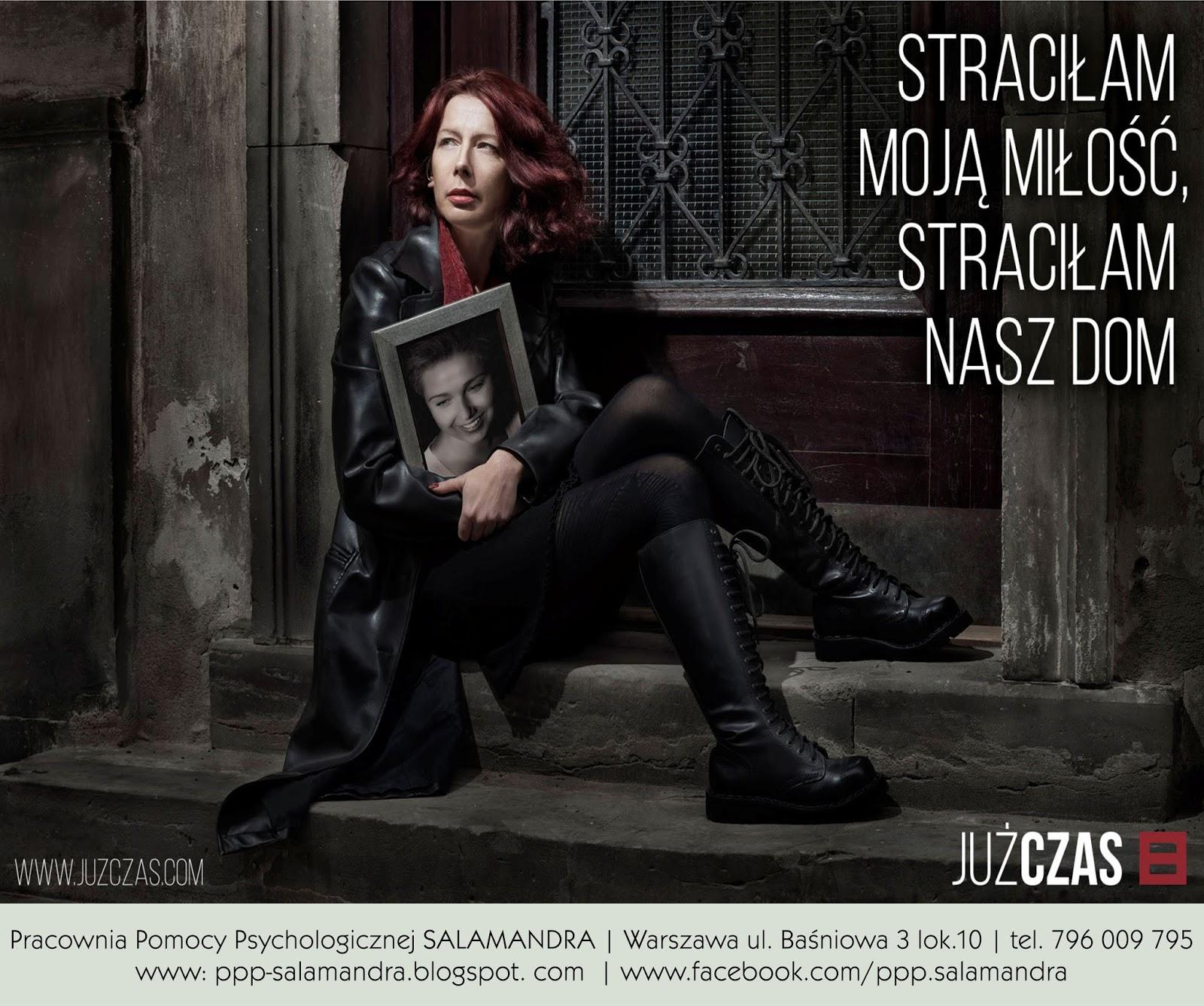 Dobry psycholog Warszawa - kampania Już czas