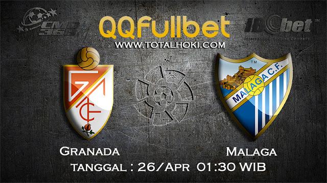 PREDIKSIBOLA - PREDIKSI TARUHAN GRANADA VS MALAGA 26 APRIL 2017 (LA LIGA SPANYOL)