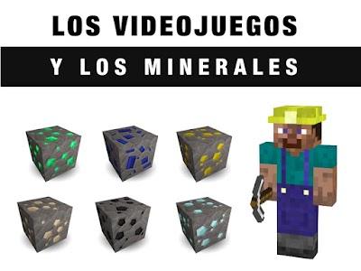 Los videojuegos y los minerales