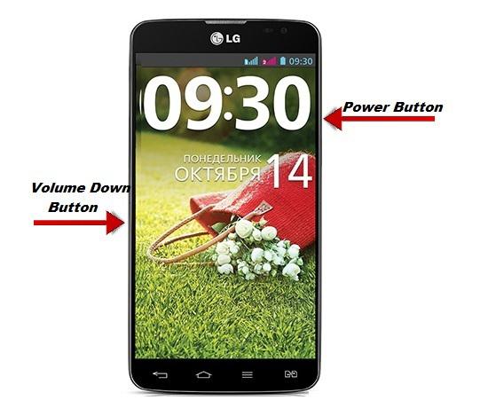 Cách chụp màn hình điện thoại LG