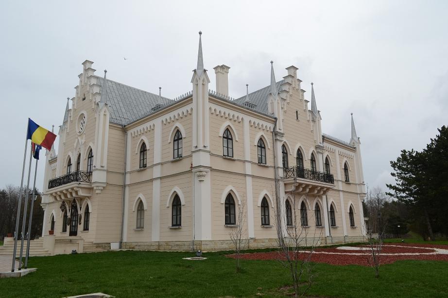 "Palatul ""A. I. Cuza"" - Ruginoasa, Iasi"