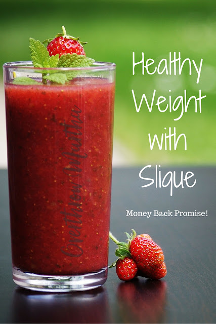 Get to that healthy #weight with #slique complete and our #challenge