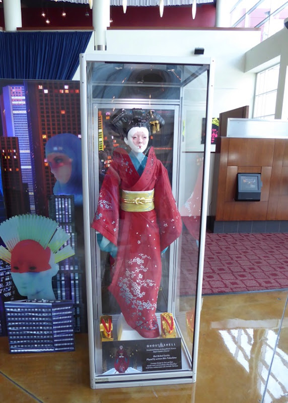 Red Robed Geisha movie costume Ghost in the Shell