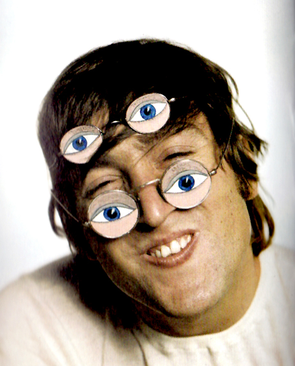 John Lennon S Funny Faces 1966 Vintage Everyday