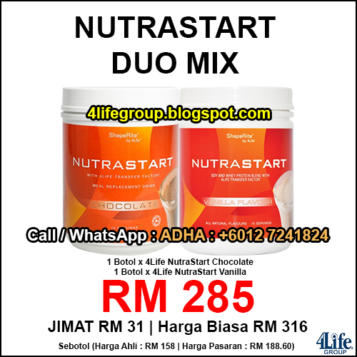 foto 4Life NutraStart Duo Mix