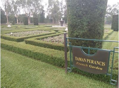 taman prancis Taman Bunga Nusantara