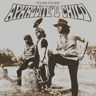 APHRODITE'S CHILD - IT'S FIVE O'CLOCK (1969) front