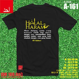 Halal dan Haram - Desain Baju Muslim