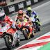 Moto GP Inggris Dovizioso mendapatkan Juara dan Rossi berada di posisi Ketiga, Marquez Bagaimana