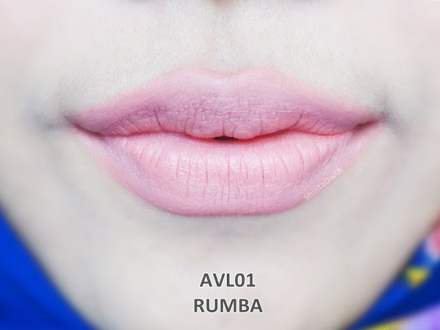 review absolute new york velvet lippie rumba
