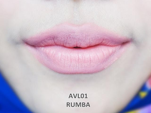 review absolute new york velvet lippie rumba