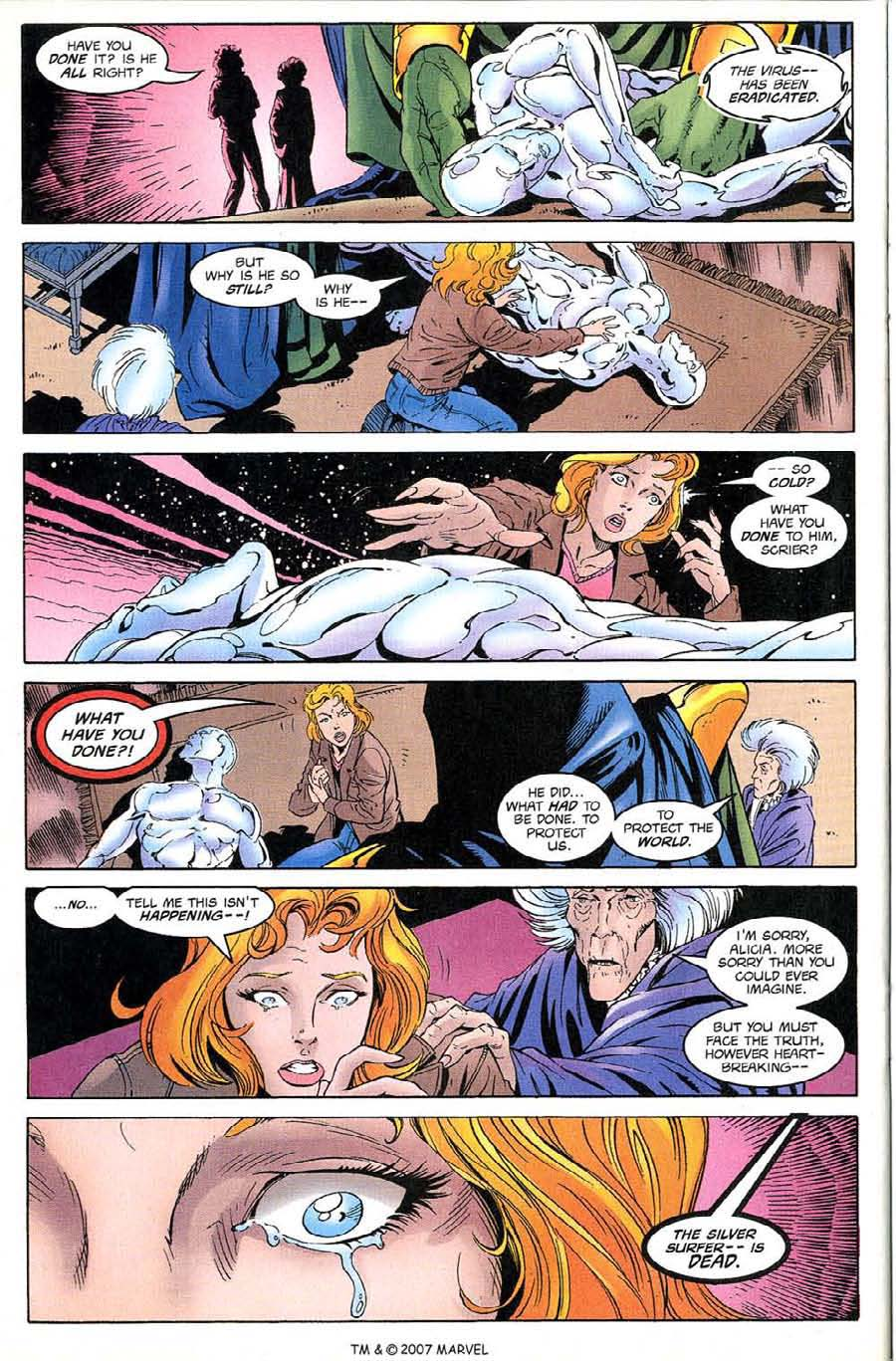Read online Silver Surfer (1987) comic -  Issue #135 - 28