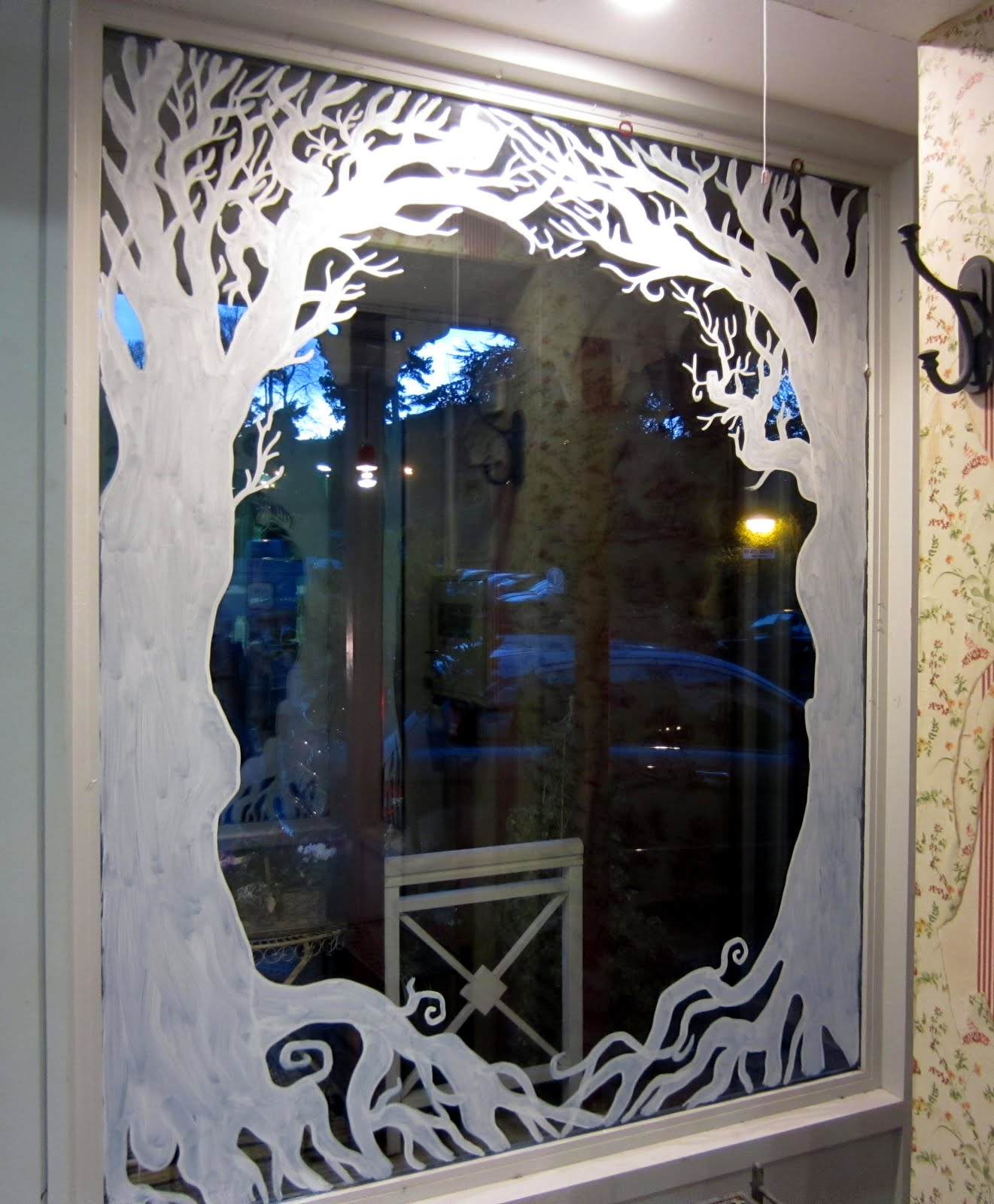 89+ Halloween Window Painting Ideas