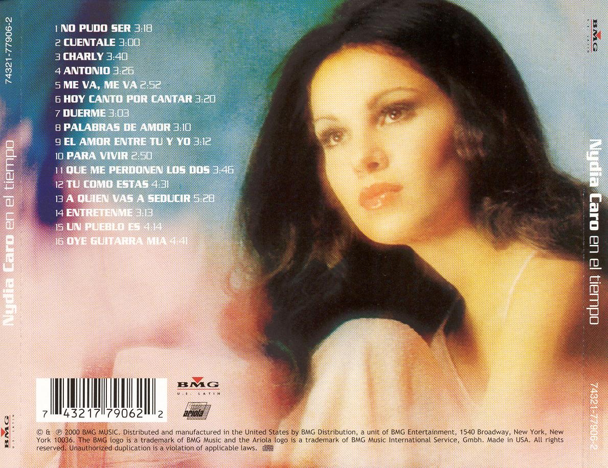 discografia de nydia caro