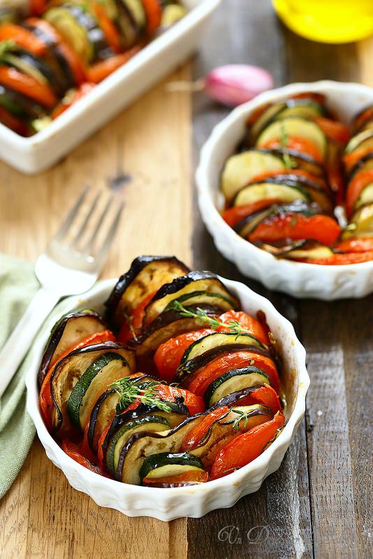 Tian de légumes (végétarien)