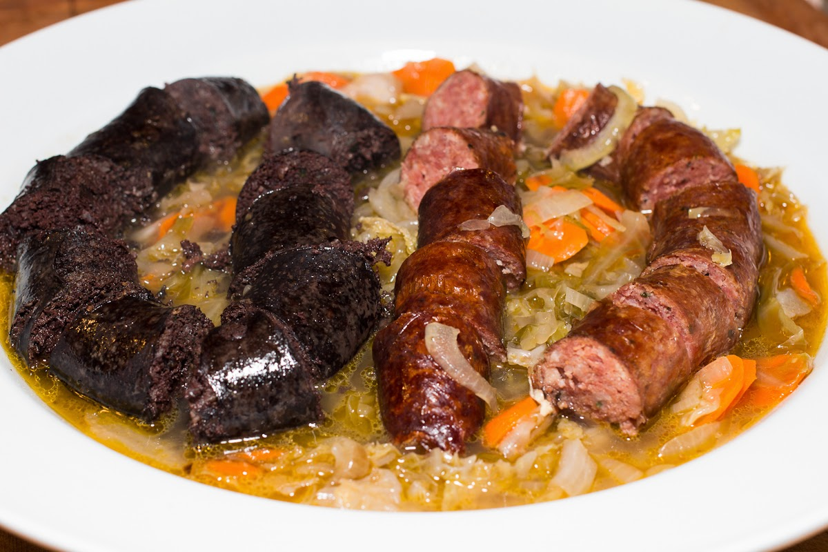 how to cook blood sausage recipe