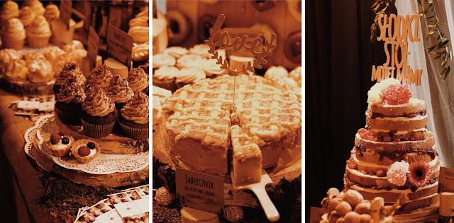 Alternatywne Targi Ślubne w Gdańsku Słodki stół, cukiernia, słodkości, Słodki Stół Mojej Mamy sweets candy bar wedding cake tort weselny