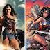 Heróis do filme Marvel / DC vs banda desenhada