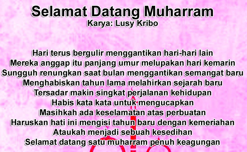 Puisi Singkat Ucapan Selamat Tahun Baru Islam 1 Muharram