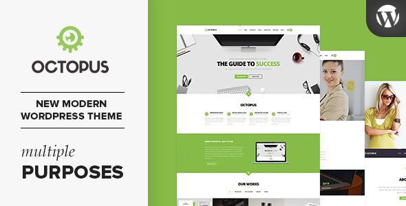 Modern Multipurpose Business WordPress Theme 2015