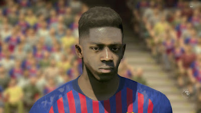 PES 2017 NEW GFX FOXELT ( Like PES 2019 ) by PES Mod Go'ip