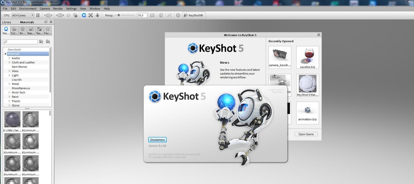Luxion Keyshot Pro 6 32 64 Bit Crack Keygen
