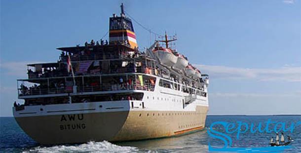 Jadwal Lengkap Keberangkatan Kapal Pelni KM Awu