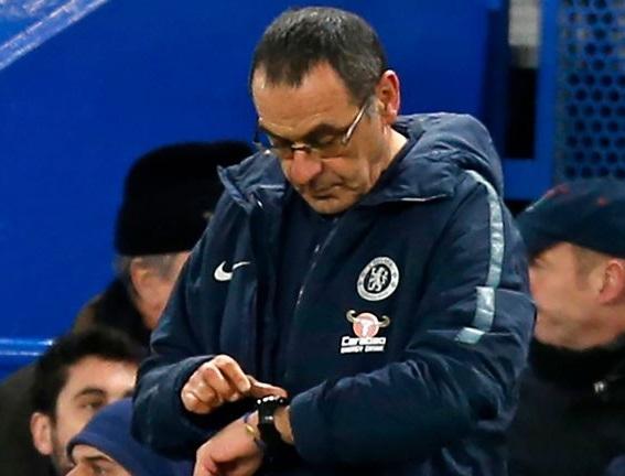 Sarri Hanya Bisa Pasrah Jika Dipecat Chelsea Karena Gagal Kalahkan Manchester City