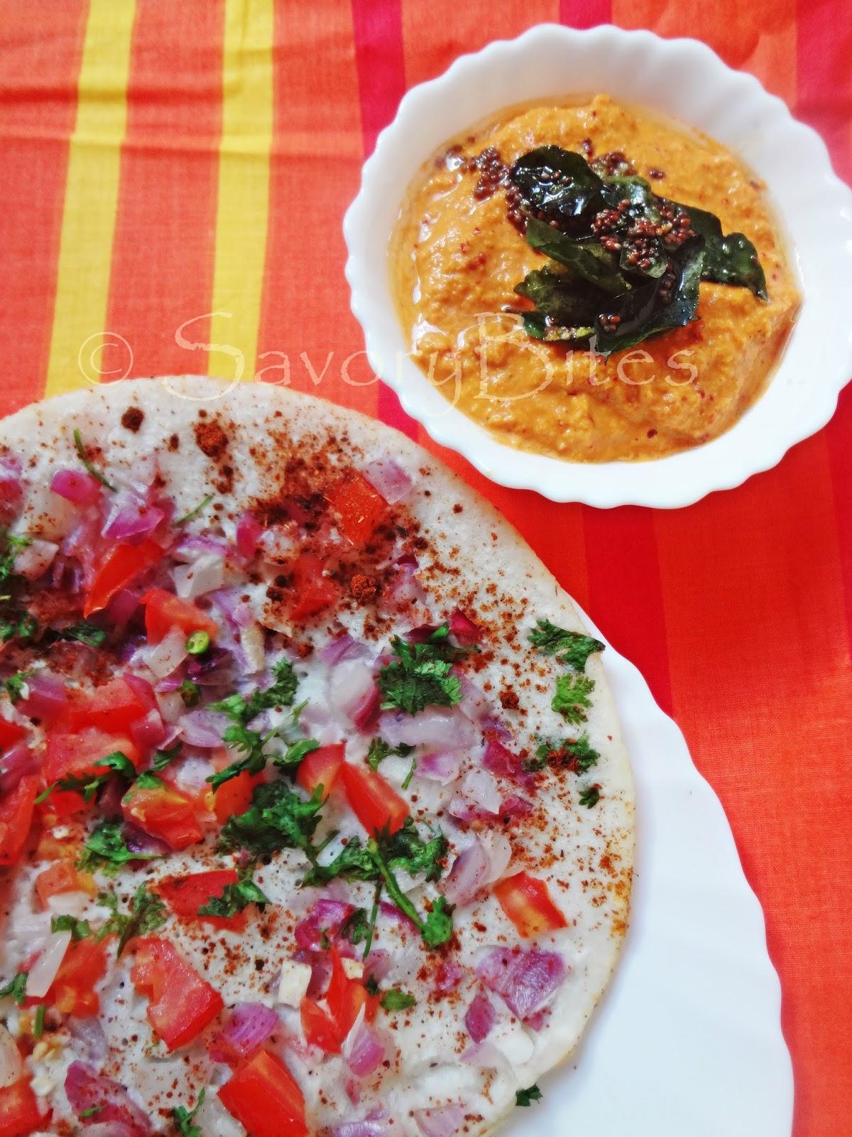 Cheesy Masala Uttapam South Indian Breakfast Indian Vegetarian