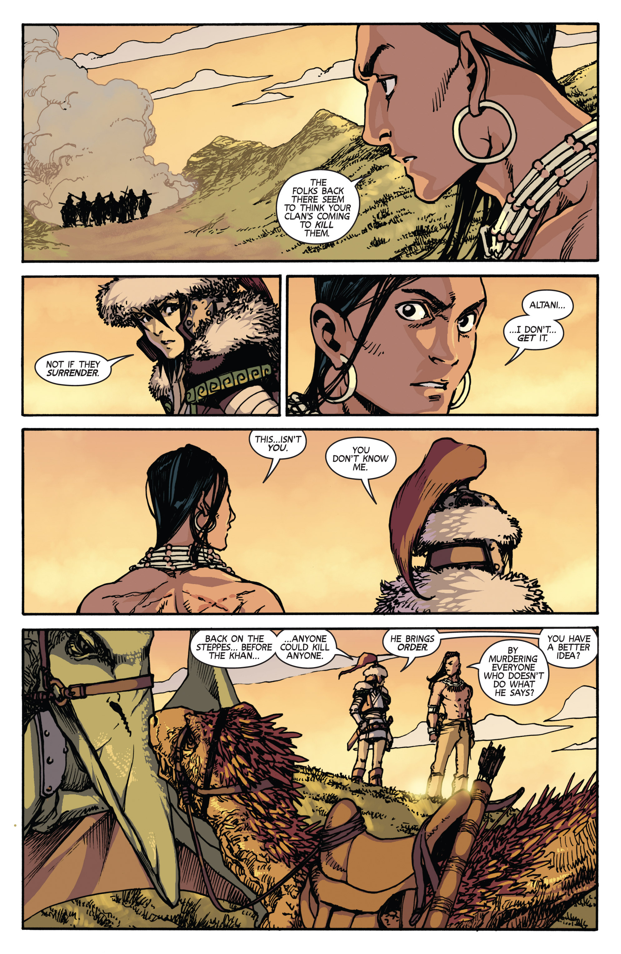 Read online Turok: Dinosaur Hunter (2014) comic -  Issue # _TPB 2 - 38