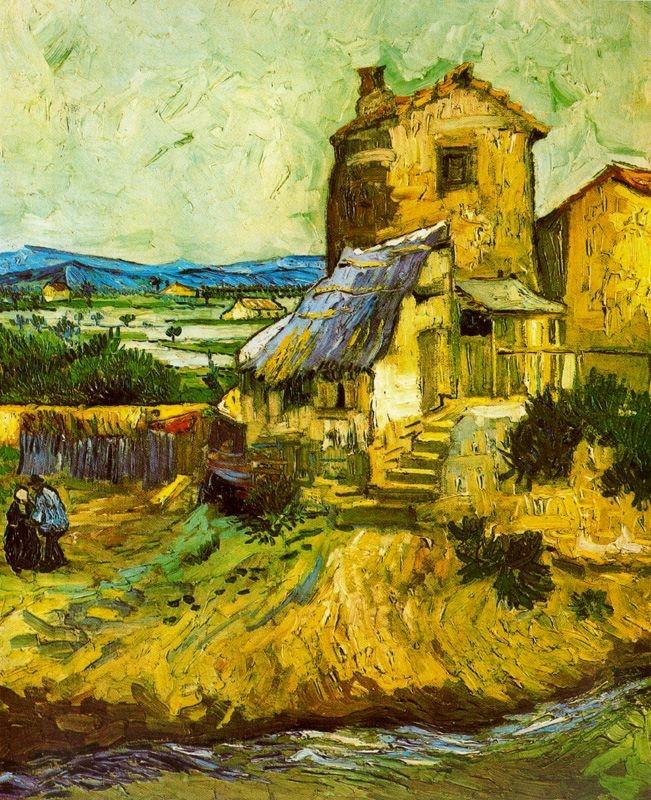 El molí vell (Vincent Van Gogh)