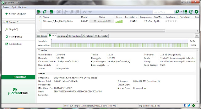 How to speed up utorrent 3. 2. 1 beta. Youtube.