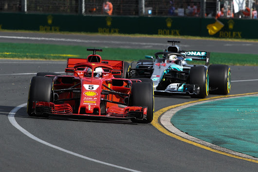 The performance analysis of the 2018 Australian Gp