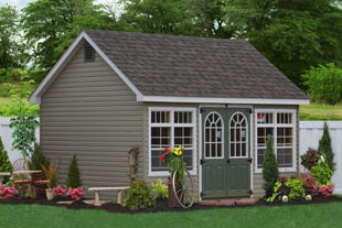 fine garden sheds nh cedar aframe cabin shed with full length