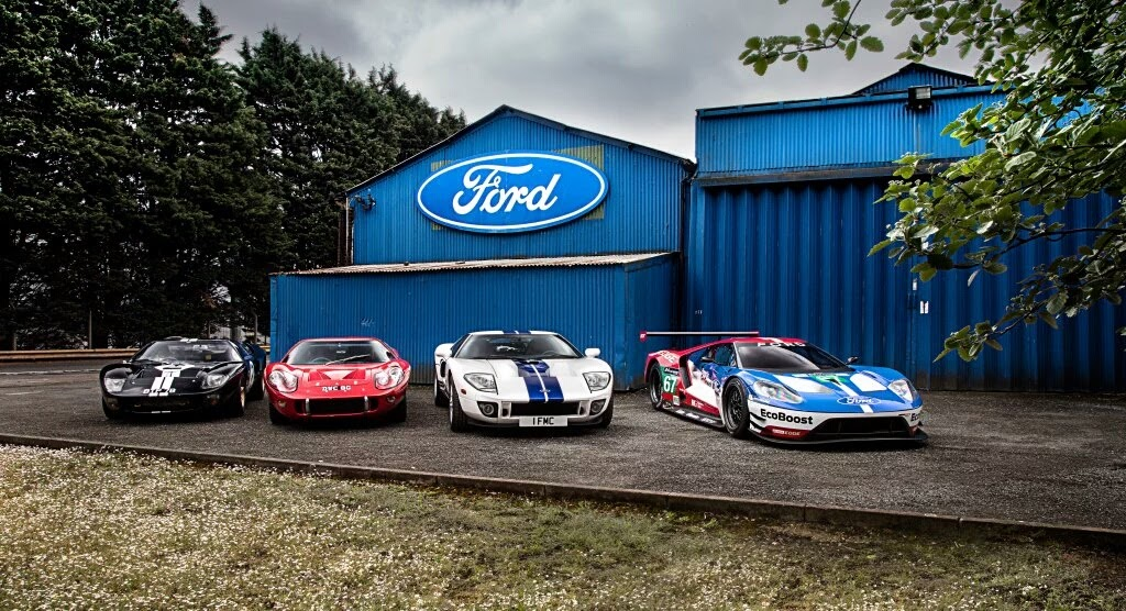 Ford Europe Steve Booker At The Ford Heritage Centre