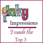 2 x Inky Impressions Top 3