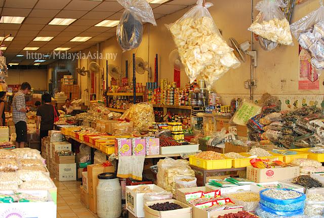 Chinese Grocer Shop Petaling Street
