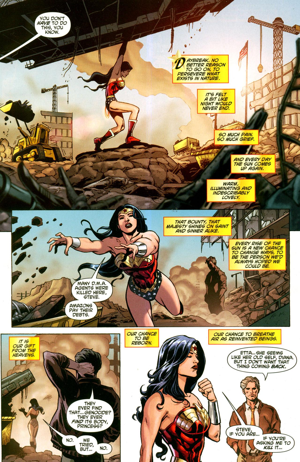 Read online Wonder Woman (2006) comic -  Issue #42 - 9