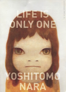 Poster of Life is Only One - Yoshitomo Nara
