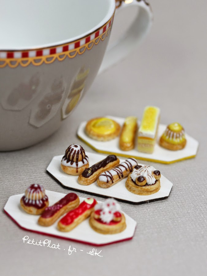 Miniature Modern Pâtisseries, Stephanie Kilgast, PetitPlat Food Art