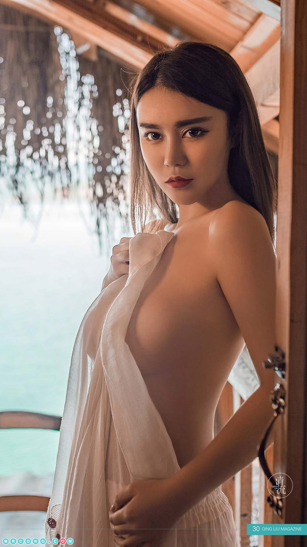 Image Qing-Liu-Magazine-2017-10-01-MrCong.com-033 in post Qing Liu Magazine 2017-10-01 第四期 (78 ảnh)