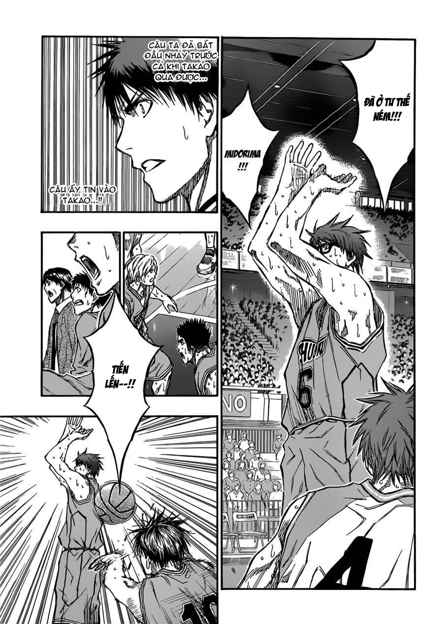 Kuroko No Basket chap 182 trang 7