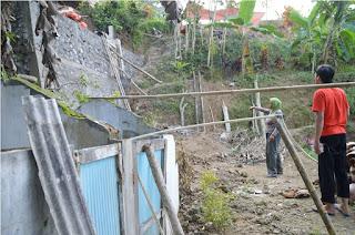 Luput dari Perhatian, Korban Tanah Longsor Belum Mendapat Bantuan
