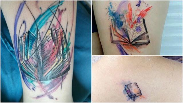 Tatuagem Para quem Ama Ler