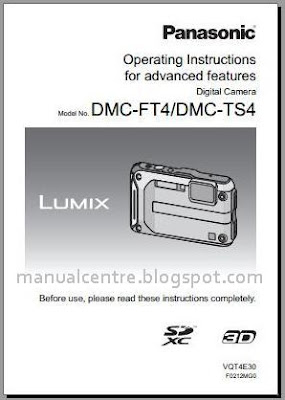 Panasonic DMC-TS4 / FT4 Manual