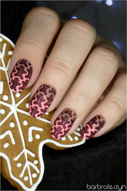 ciasteczka na paznokciach