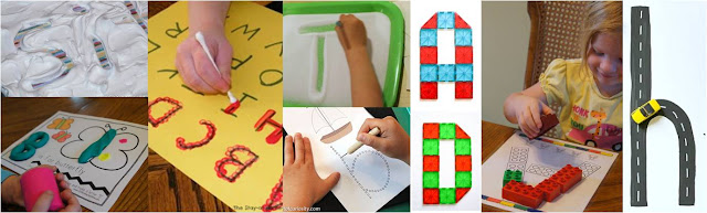 Clever ideas to teach kids how to make letters and practice forming letters