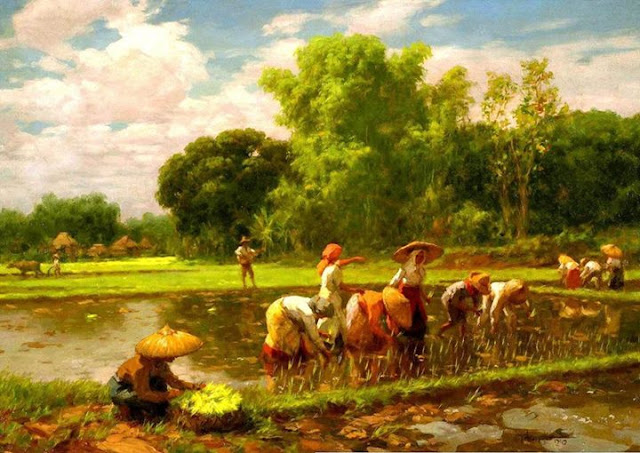 Fernando Amorsolo - Rice Planting